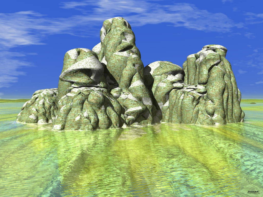 Potato Rocks - Virtual photo