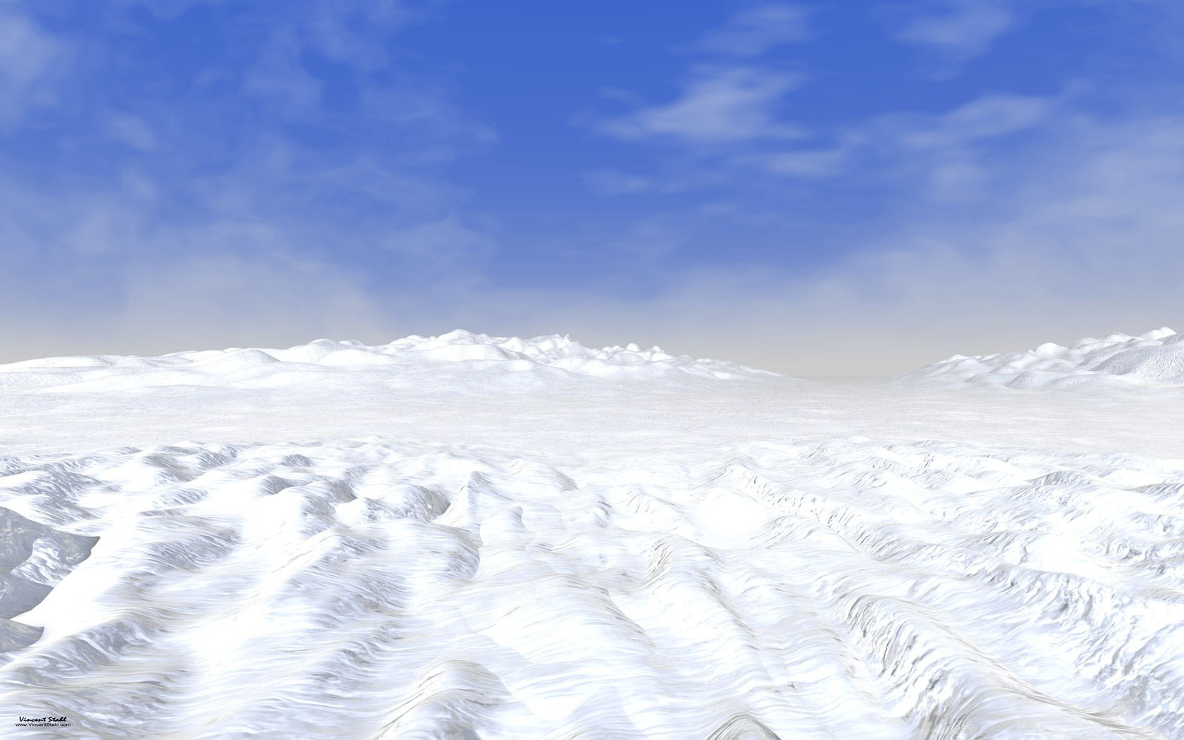 Snow Field - Desktop backgrounds